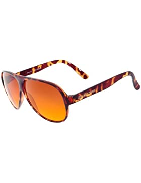 BluBlocker Gafas de sol oficiales del aviador Grande Demi tortoise