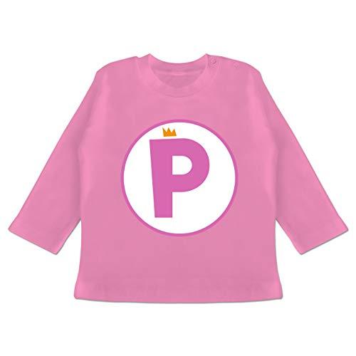 Karneval und Fasching Baby - P Spiel Kostüm Prinzessin - 18-24 Monate - Pink - BZ11 - Baby T-Shirt ()