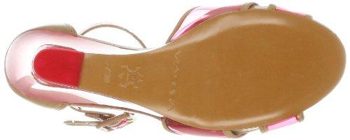 Via Spiga Biana Damen Leder Keilabsätze Sandale Pink Mu