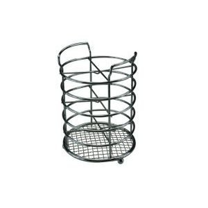 TRIPLE CHROMED CUTTLERY STORAGE RACK/DRAINER
