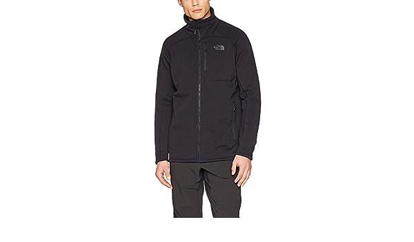 419a54c2de North Face M Flux 2 Powerstretch Full Zip Jacket - Men's, Black - (TNF  Black): Amazon.co.uk: Sports & Outdoors