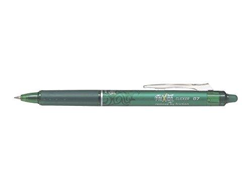 pilot-frixion-clicker-retractable-erasable-rollerball-07-mm-tip-green-single-pen