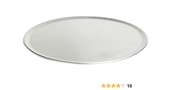 "Pizzacraft PC0402 16/"" Round Aluminum Pizza Pan Large Size"