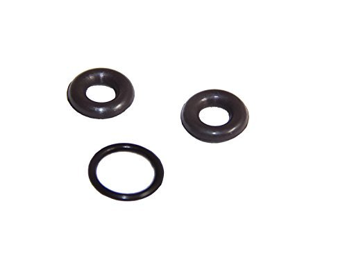 Viton Ford Powerstroke 7.3L 7.3 L Fuel Filter Bowl Drain Valve O-Ring Kit 3pc by H.S - Fuel Bowl