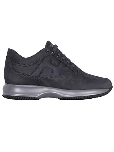 Hogan Sneakers Uomo Hxm00n00010dscu215 Pelle Blu