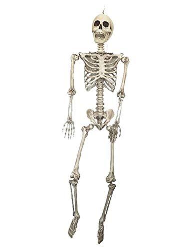 THEE Halloween Karnaval Fasching Skelett Schädel Knochen Anatomie Realistische Party Dekor