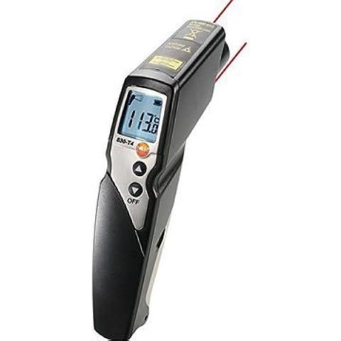 Testo 830-T4 radiazione infrarossa termometro allarme laser a 2 punti
