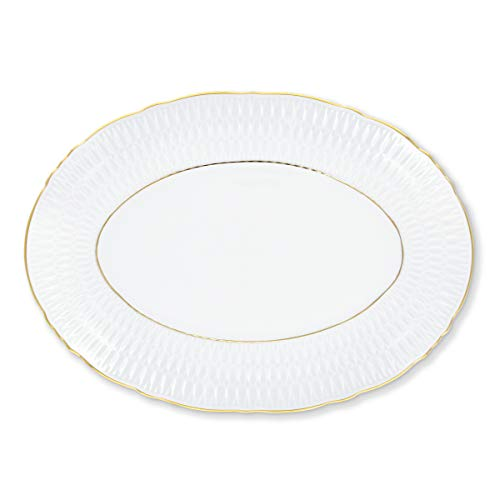 Bruno Evrard Plat Ovale en Porcelaine 33x24cm - SILONA