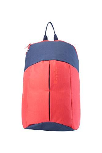 Mountain Warehouse Dash 10-Liter-Rucksack - strapazierfähiger, Kleiner Rucksack, mit Gummizug, praktischer Wander-Rucksack - für den Sommer, Pendler, Picknicks, Outdoor Koralle -