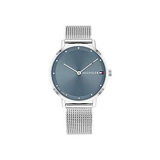 Tommy Hilfiger Reloj Analógico para Mujer de Cuarzo con Correa en Acero Inoxidable 1782149