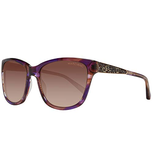 Guess Damen by Marciano Gm0723 O44 57 Sonnenbrille, Violett,