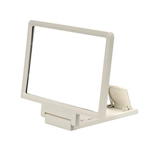 Zzyq 7,8 Fuß 3D-Bildschirm-Bildschirmlupe, Strahlenschutzauge HD-Bildschirm-Bildschirmlupe Desktop Faltbar -