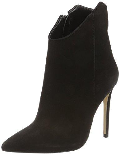 ALDO Women's Myrona Ankle Boots, Black (Black Nubuck/93), 5.5 UK