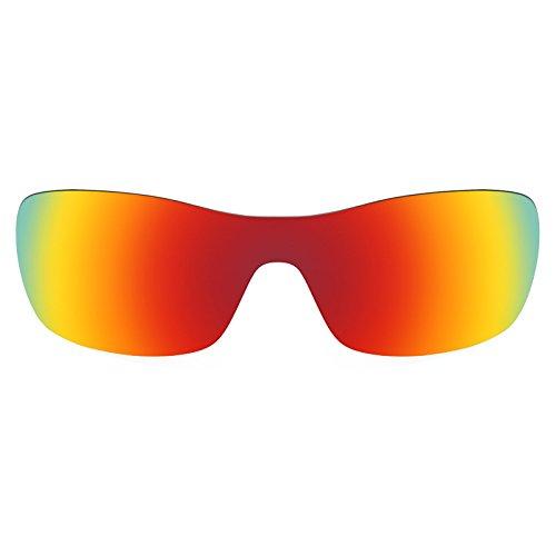 Revant - Lunettes de soleil -  Homme Rouge Reu MirrorShield® - Polarisés