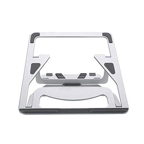 PEALO Laptop-Ständer, Faltbarer tragbarer belüfteter Tischplatten-Laptop-Stand-Halter Justierbarer ergonomischer Behälter-Halter-Berg für MacBook/Laptop / Notebook-Computer
