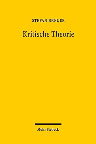 Kritische Theorie: Schlüsselbegriffe, Kontroversen, Grenzen