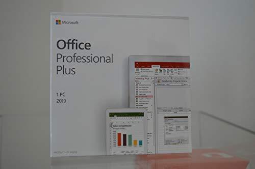 Office 2019 Pro Plus | Box Originale MS | Sigillato | Include Key Card | Licenza a Vita | Fattura