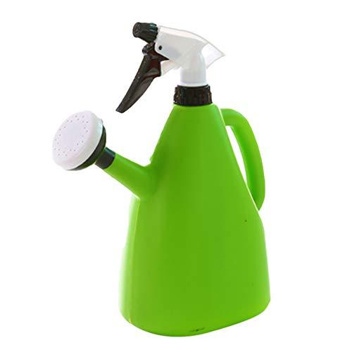 Demarkt Pflanzen Sprüher Plastik GießKanne Die Blumen Wasser Spray 2 Düsen Für Reinigung (Grün) (Gießkanne Mit Blumen)