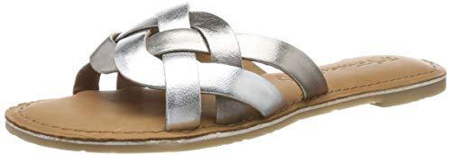 Tamaris Damen 1-1-27136-32 Pantoletten, Silber (Silver Comb 948), 39 EU