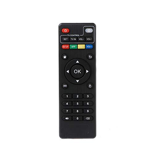 GROOMY IR Fernbedienung Ersatz für Android TV Box H96 Pro + / M8N / M8C / M8S / V88 / X96