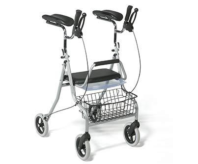 Rollator für ältere Menschen Leichtgewichtrollator mit Unterarmauflagen | Maximale Belastbarkeit 120 kg | Qualitätsgarantie | 276 Vermeiren