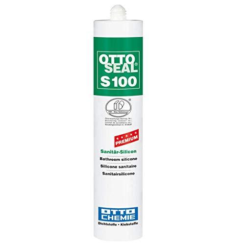 Otto Seal S 100, Sanitär-Silicon Weiss, 300 ml