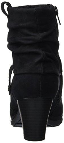Gabor Shoes Comfort Basic, Stivaletti Donna Nero (SchwarzNickif.)