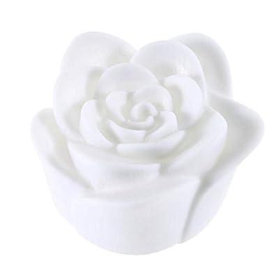 Schöner Entwurf, der 7 Farben-Rosen-Blumen-LED helle Nachtkerzen-Licht-Lampen-romantische Groß für die Haus-Partei-Verzierung ändert