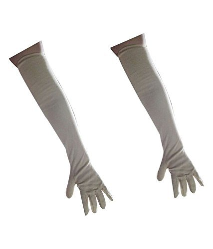 EASY4BUY Full Lenghth Skin Gloves Driving Gloves for Women - Set of 2