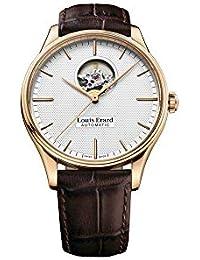 Reloj Automático Louis Erard Héritage Classic, PVD, Plata, 60287PR51.