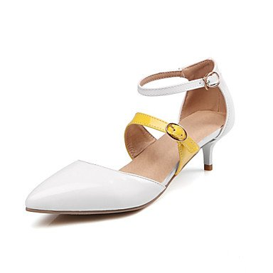 Zormey Frauen Heels Frühling Sommer Club Schuhe Komfort Neuheit Lackleder Angepasste Materialswedding Büro & Amp; Karriere Party & Amp; Abendkleid US8 / EU39 / UK6 / CN39
