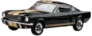 Revell 12482 Shelby Mustang GT350H detailgetreuer Modellbausatz, Autobausatz 1:24