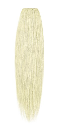 American Dream de qualité Platinum 100% cheveux humains Extensions capillaires 45,7 cm couleur 60 – Blond Pur