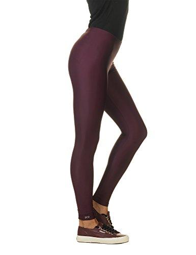 Pcp Women's Jacqueline Pink Leggings Burgundy