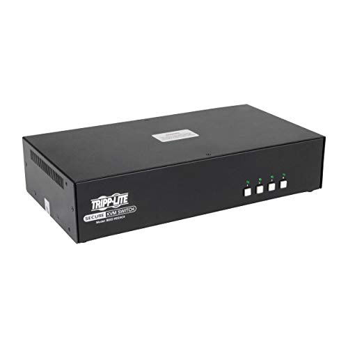 Secure KVM-Switch (4 Ports, Dual Monitor, HDMI/DP Niap, Pp3.0 W/CAC)