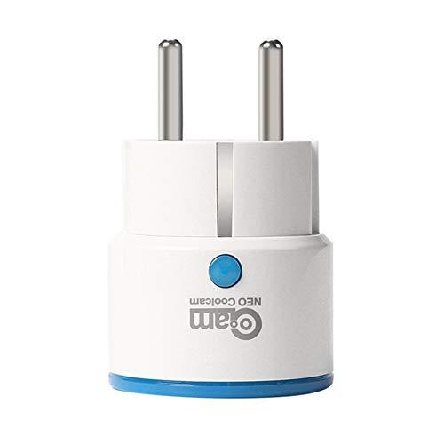 Printong NAS-WR01ZE Spina di Alimentazione Intelligente Z-Wave Presa di Corrente UE Presa di Corrente prolunga Presa di Corrente Sistema di Allarme Smart Home Automation