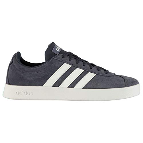adidas Originals VL Court 2.0 Sneaker Damen blau/weiß, 7 UK - 40 2/3 EU - 8.5 US