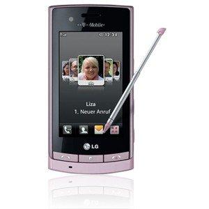 LG GT500 Smartphone (7,6 cm (3 Zoll) Display, 5 Megapixel Kamera, Touchscreen) schwarz mit T-Mobile Branding
