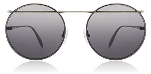 Alexander mcqueen occhiali da sole am0137s ruthenium/grey shaded unisex