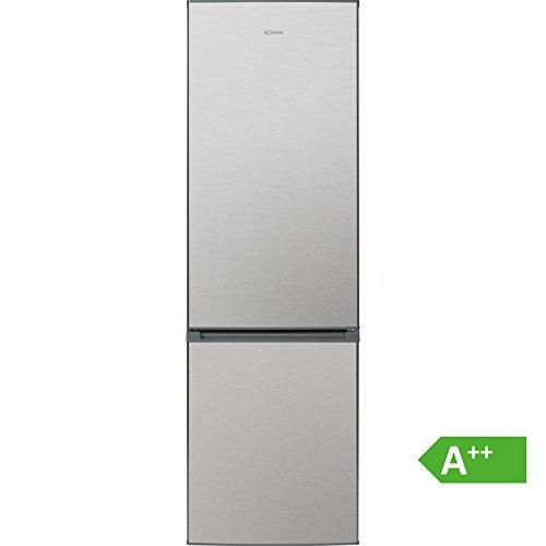 Bomann KG 190 Kühl-Gefrier-Kombination / A++ / 180 cm / 201 kWh/Jahr / 189 L Kühlteil / 71 L Gefrierteil/ LED-Innenraumbeleuchtung
