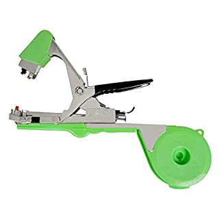 Aozzy 2018 Newest vineyard tool Garden Vine Tying Tape Plant Tying Machine Agriculture Tapener Hand Tying Machine fix the vine plant such as tomato, cucumber, ect 10 rolls tape+1 staples +Tying Tool