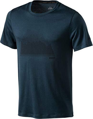 McKINLEY H-T-Shirt Korrum Blue Petrol. - M