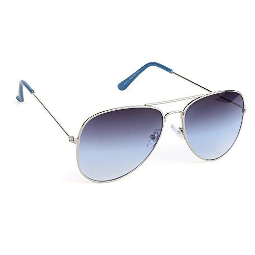 Eccellente Aviator Sunglasses for Men Women Boys and Girls _ Gradiant_blue