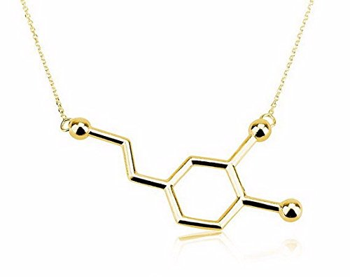 mese-london-collar-de-estructura-qumica-de-felicidad-con-colgante-de-dopamina-de-oro-elegante-caja-d