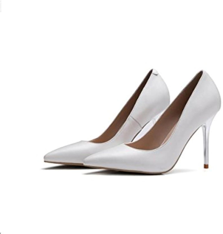 AJUNR Moda/elegante/Transpirable/Sandalias Zapatos de mujer el viaje solo zapatos sugerencia ligero y delgado... -