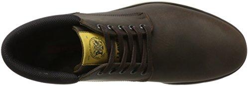 Lloyd Mens Bernie High Sneaker Brown (espresso / Nero)
