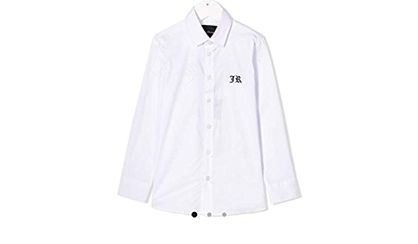Camicia John Richmond bimbo rba20196ca bianca