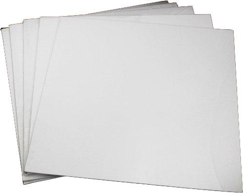 6 x Malpappe 12 x 18 cm reine Baumwolle-