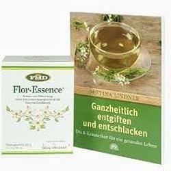 """Flor Essence Kräutermischung + Buch: """"Ganzheitlich entgiften und entschlacken"""""""