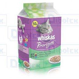 Whiskas - Pranzetti con Pollo Manzo e Tonno
